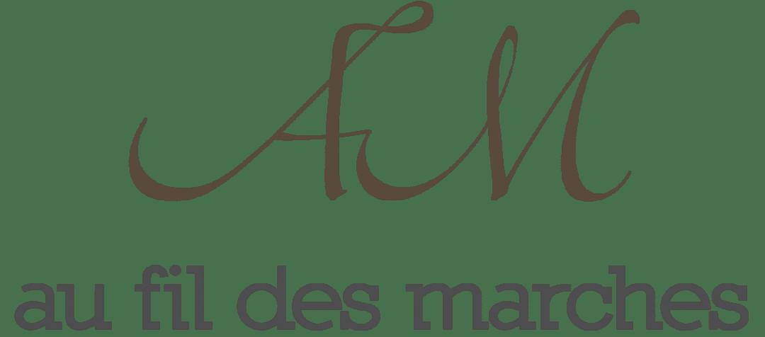 logo fil des marches marron fond transparent sans bas